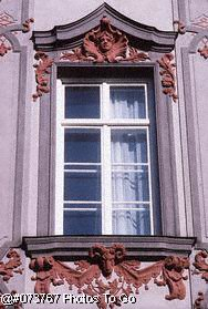 Window w/sculpture